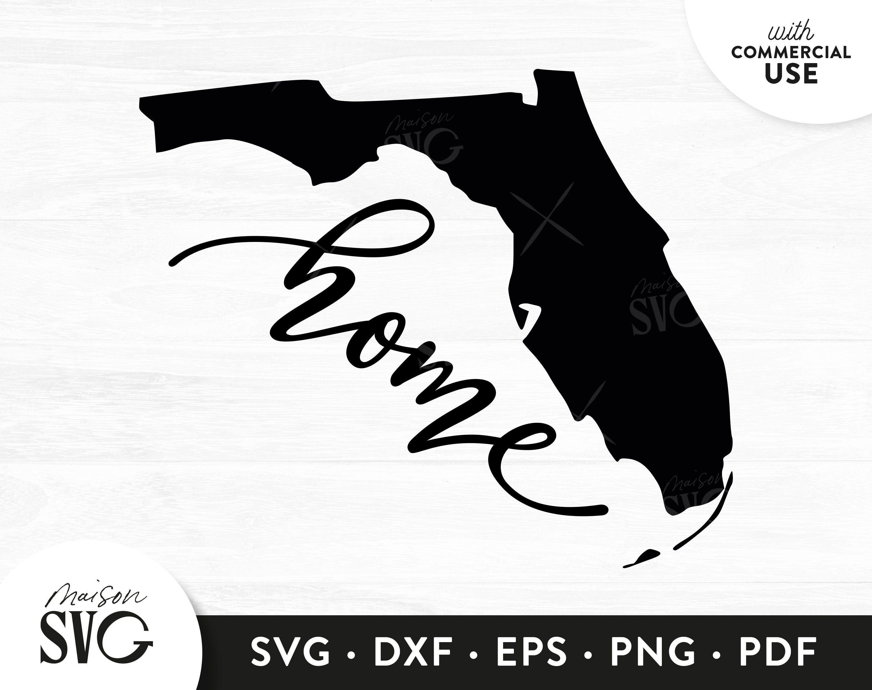 Florida Map Svg Home Sweet Home Florida Svg Florida State Svg Usa States Svg Love Florida Clipart Svg Cricut Files Instant Download Svg Map Of Florida Svg Image Design