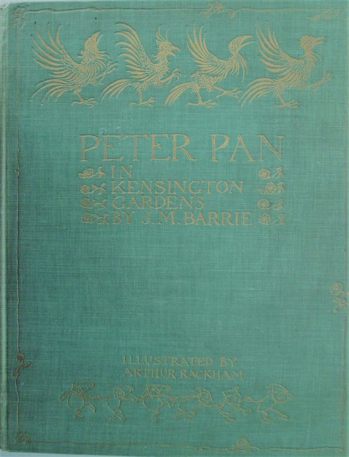 Peter Pan In Kensington Gardens Quotes