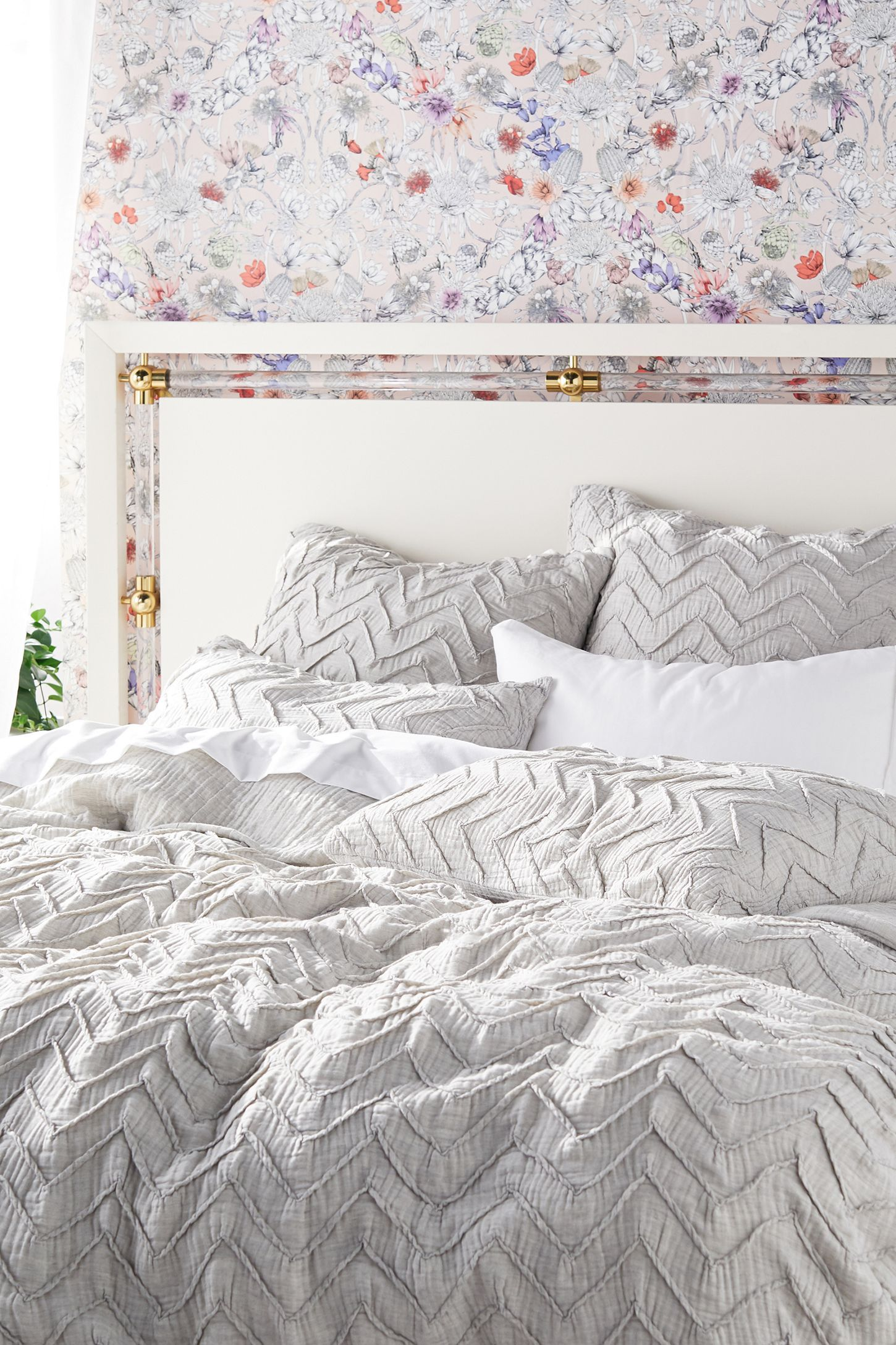 Textured Chevron Duvet Cover With Images Duvet Cover Master