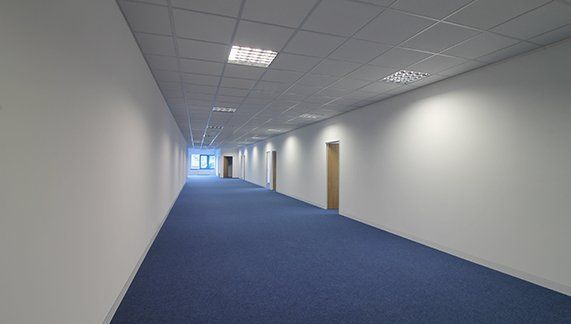 The fit-out & #refurbishment of Acrelec UK Ltd's new #HemelHempstead based, #UK headquarter, including the installation of a raised access floor, stud & board partitions, a breakout space, tea-point & more...