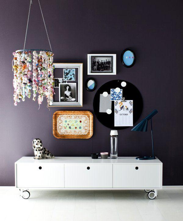 how funky and new age!  would love a room in my house to do this!