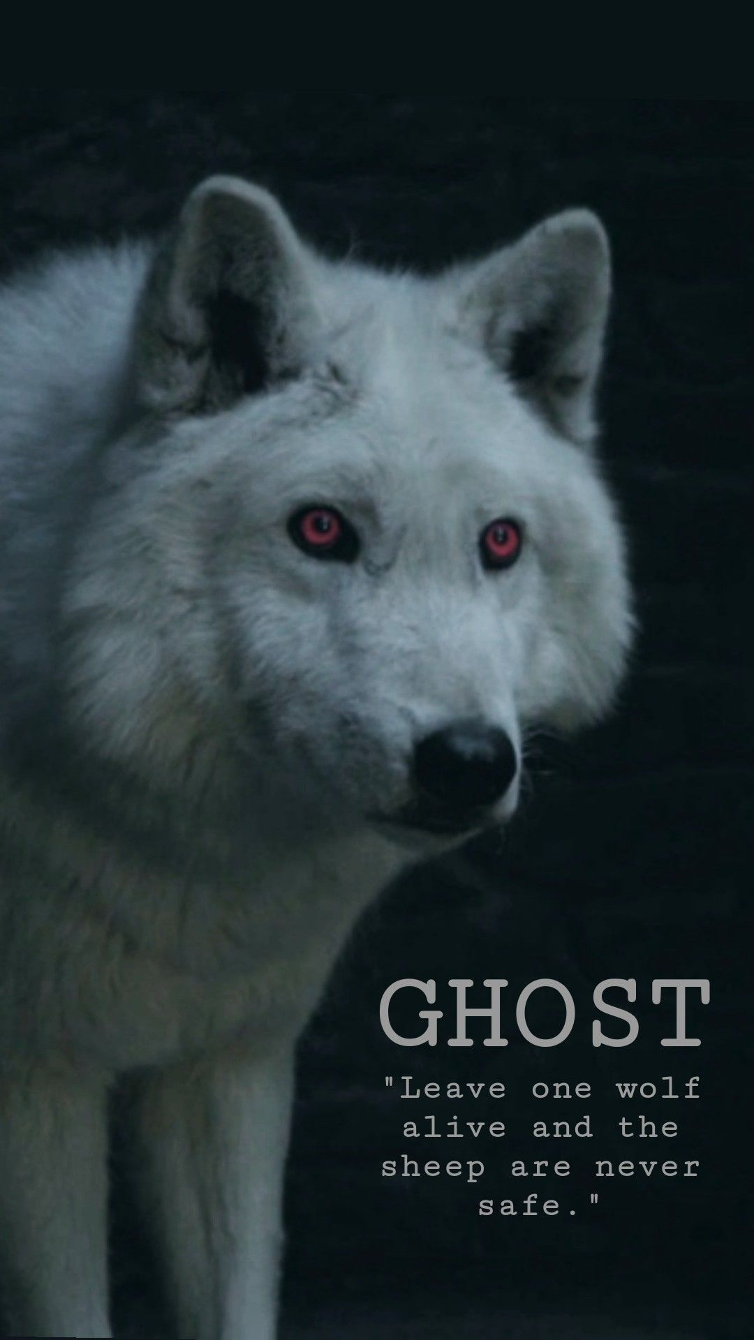 Leave One Wolf Alive and The Sheep Are Never Safe Stark Game of Thrones Adult...