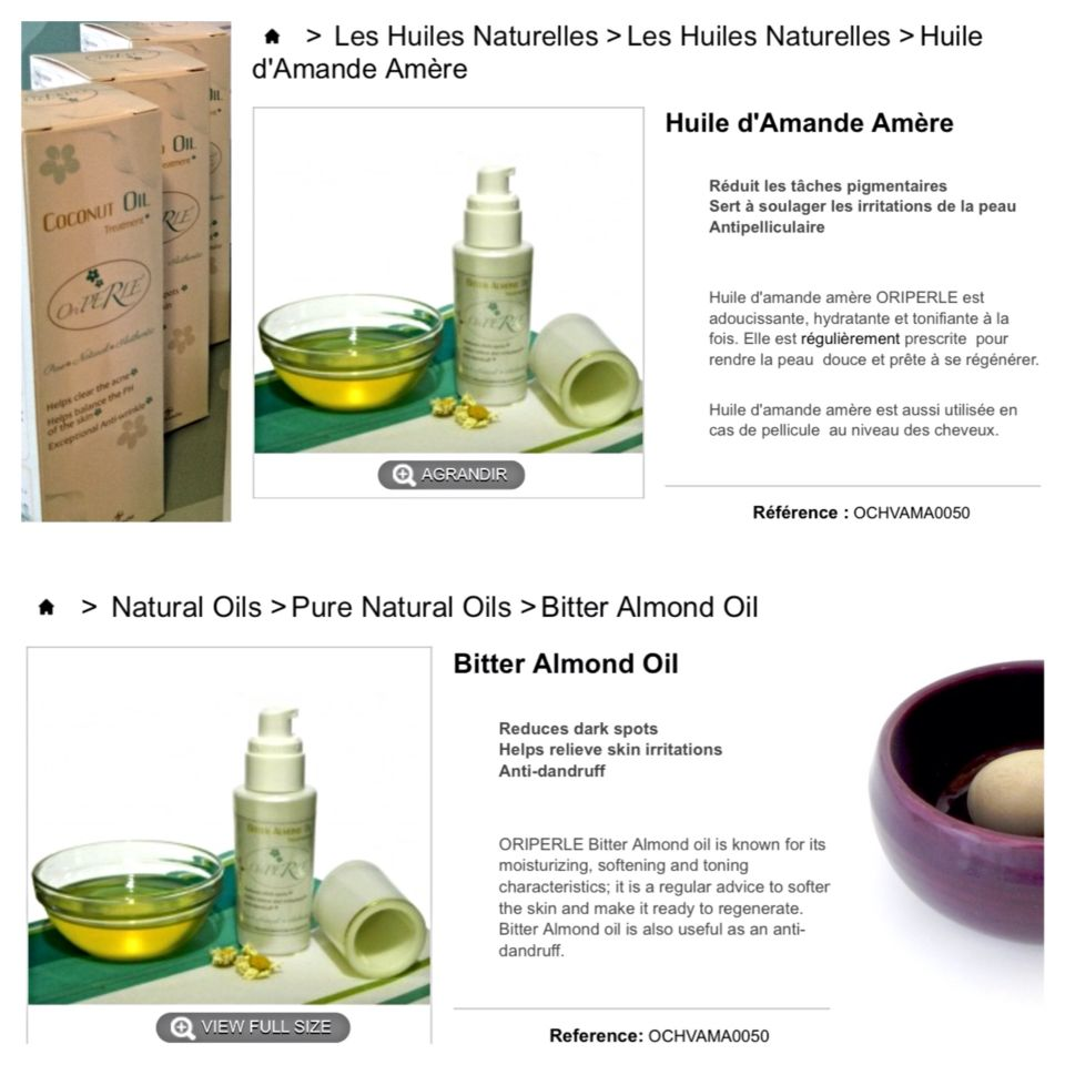 Skin Care After waxing, apply bitter Almondoil to