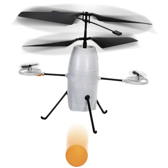 iPhone Controlled Ball Dropping Bomber will help you exact your revenge