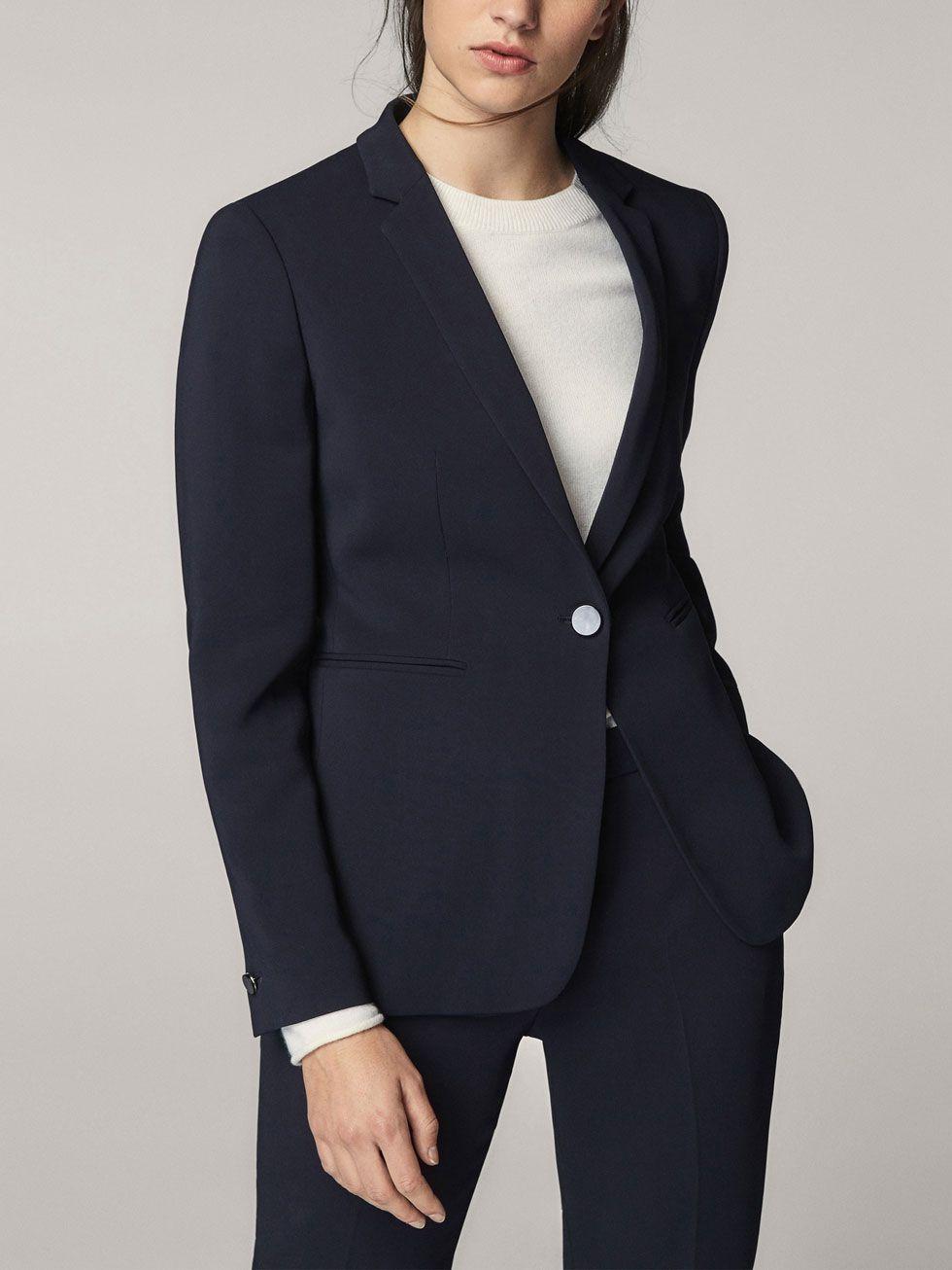 Veste bleu marine femme cache cache
