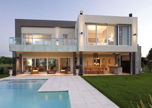 Alberici construcciones estudio de arquitectos casa estilo actual - Arquitectos casas modernas ...
