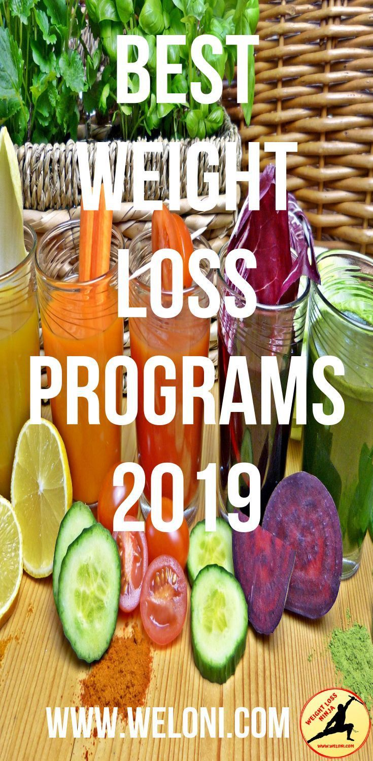 The Best Weight Loss Programs and Diets for 2019! -