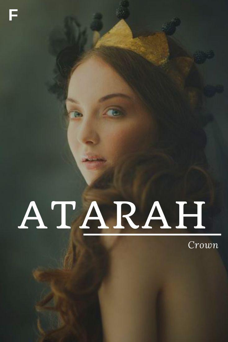 Atarah - Name bedeutet Krone #babynamesboy