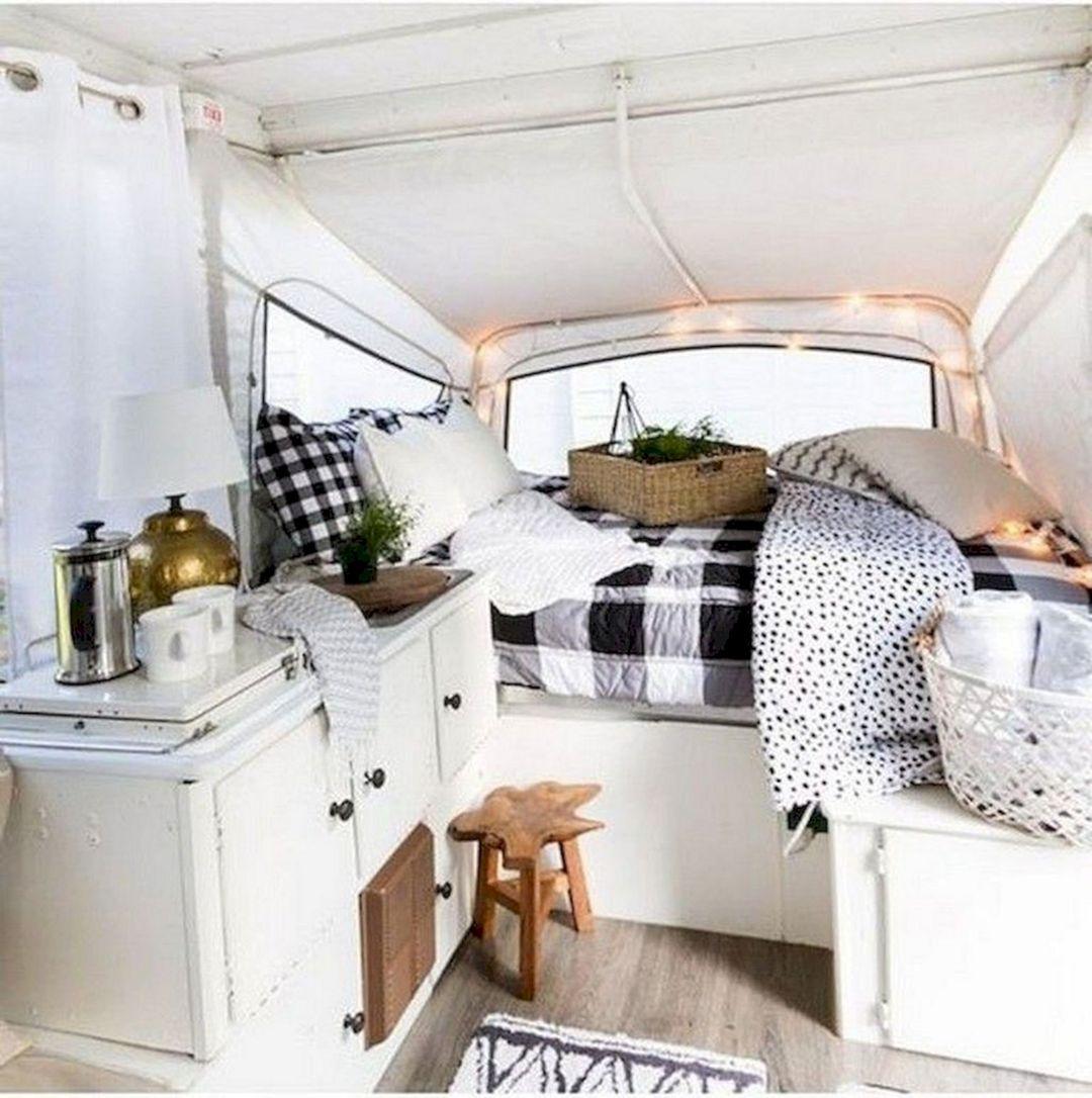 7 Cozy Farmhouse RV Camper Interior Ideas awesome Some of