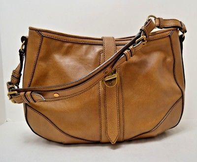 e3ddb6199697 Burberry Brown Buffalo Leather Hobo Shoulder Tote Bag