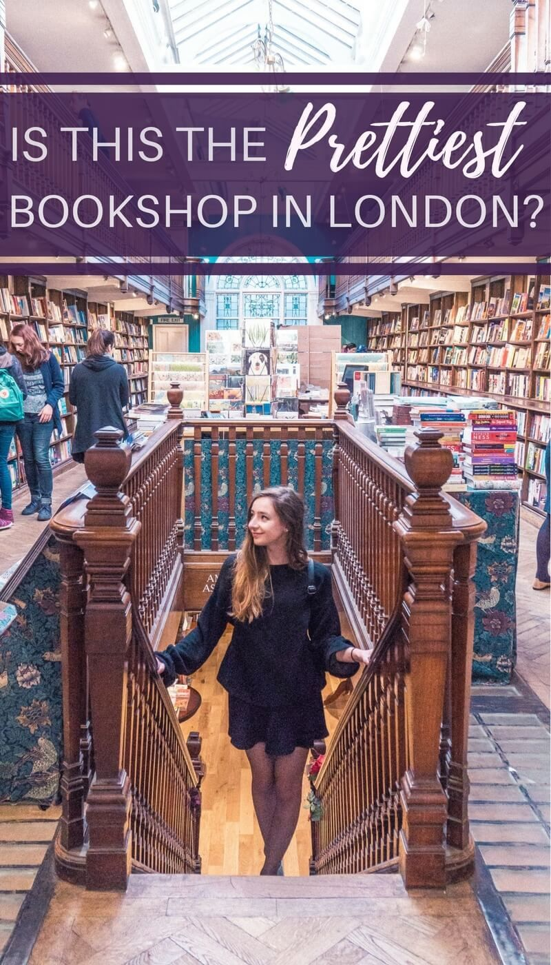 Daunt Books- Is this the prettiest set of bookshops in London, England- A quick guide to perusing the shelves of this travel focused bookshop in Marylebone, central London!