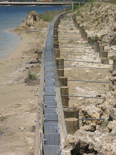 Bulkhead Construction Vinyl Bulkheads Waterfront Construction Sea Wall Landscaping Retaining Walls Lake House