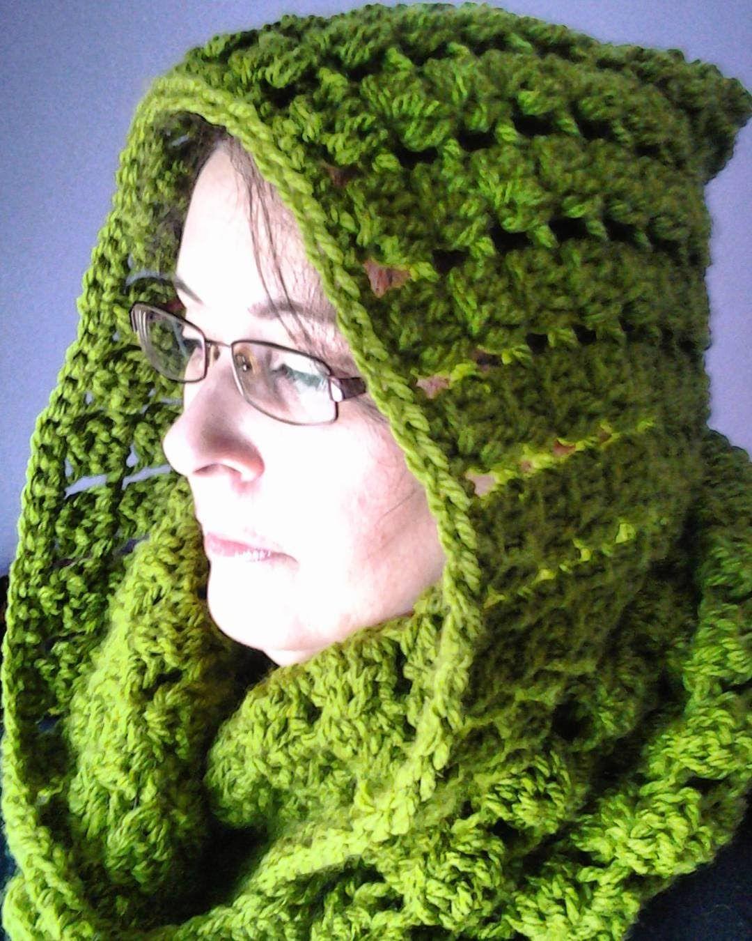 Encantador Los Patrones De Crochet Libre Para La Bufanda Capucha ...