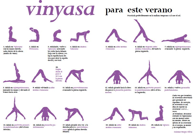 Vinyasa Yoga Para El Verano