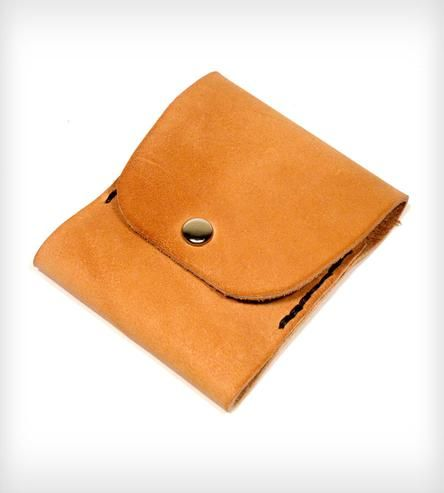 Oh Snap! Thin  Wallet by Motor Street Leather & Stuff on Scoutmob Shoppe #dreamweekender