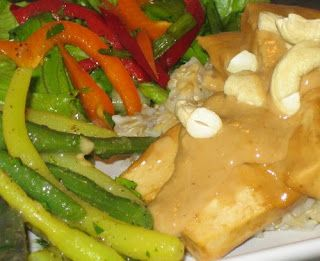 Dreena's Vegan Recipes: Cashew Ginger Tofu
