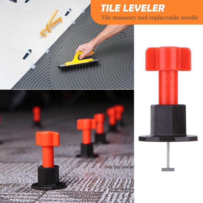 75pcs Adeeing Level Wedges Tile Spacer Wall Carrelage Level Leveler Locator Spacers Plier Level Wedges Tile Spacers For Flooring Tile Leveling System Tile Spacers Tiles