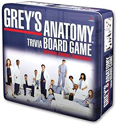 Amazon.com: Cardinal Industries Grey's Anatomy Game: Toys ...