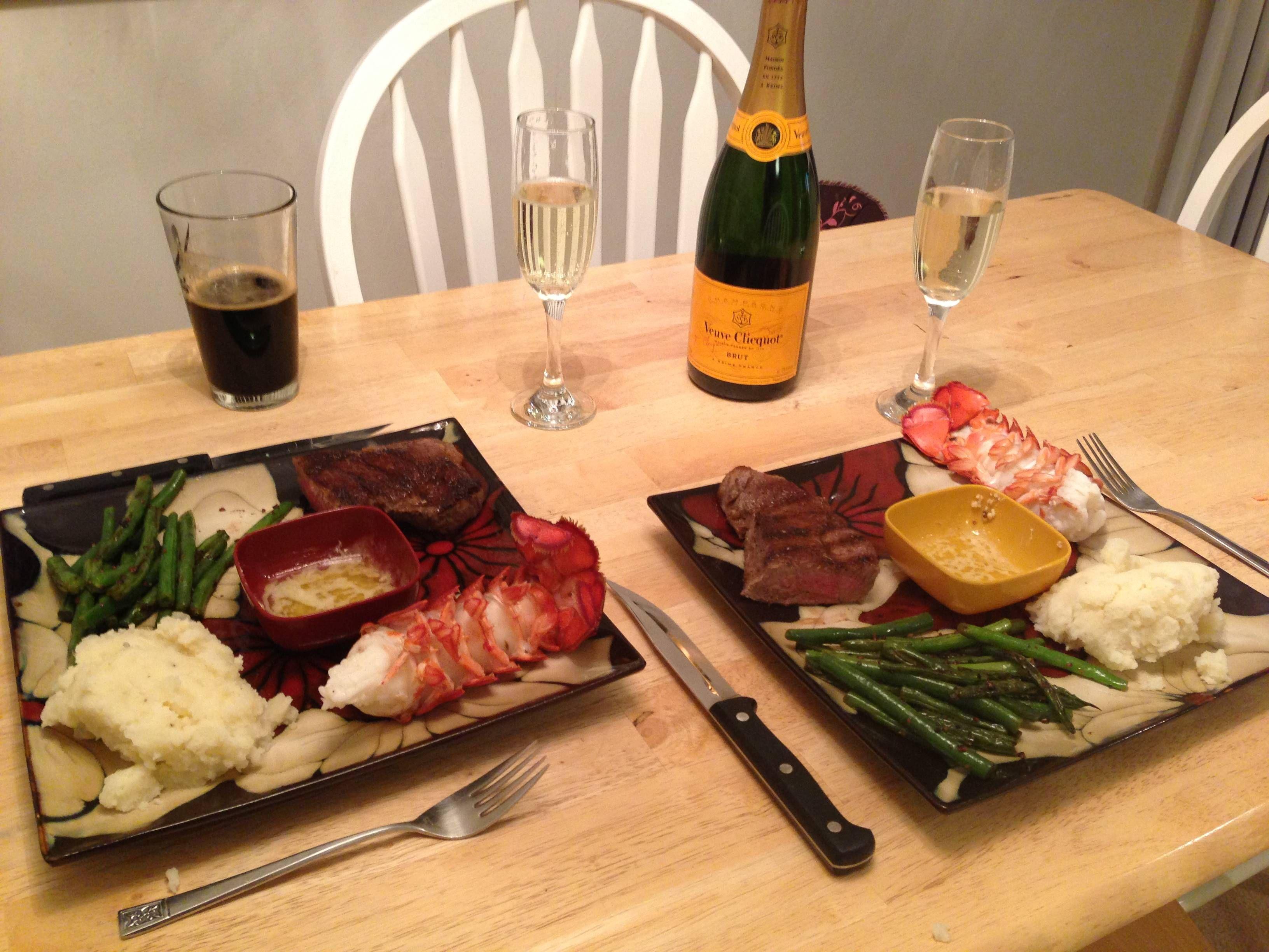 Steak and lobster dinner | Steak and lobster dinner ...
