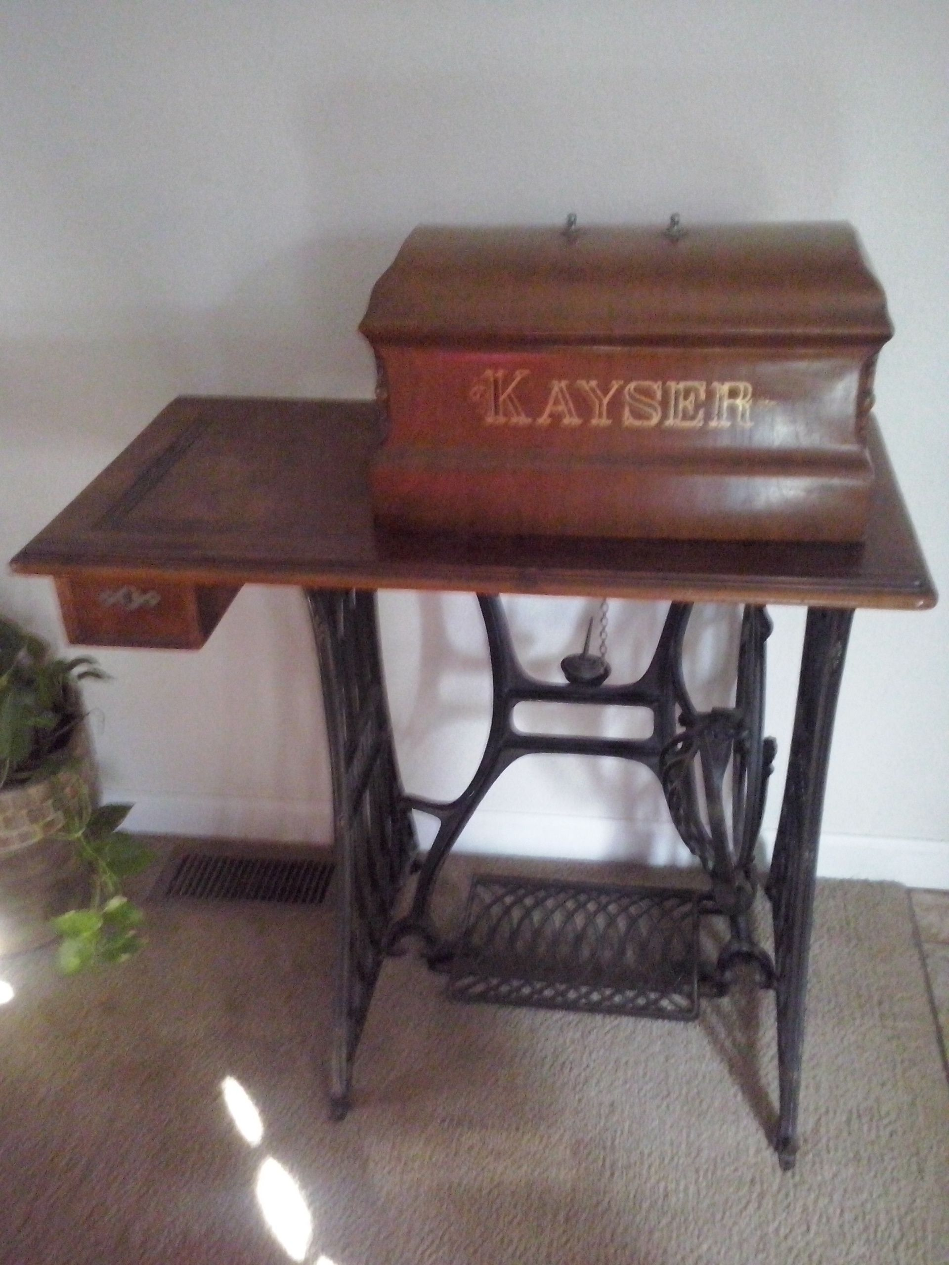 Old German Sewing Machine