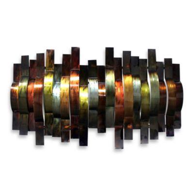 Convex Metal Ribbons Wall Art - BedBathandBeyond.com ...