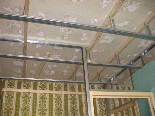 Faux 600 450 d co pinterest for Installer faux plafond