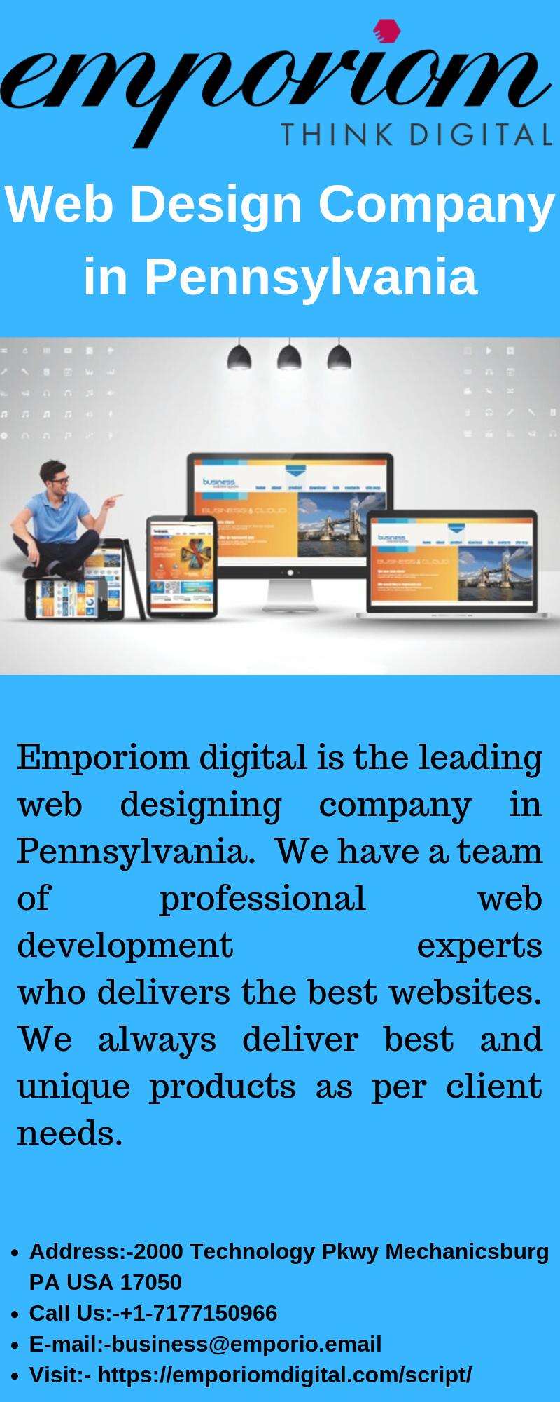 Web Design Company In Pennsylvania Emporiomdigital Web Design Company Interactive Advertising Design Company