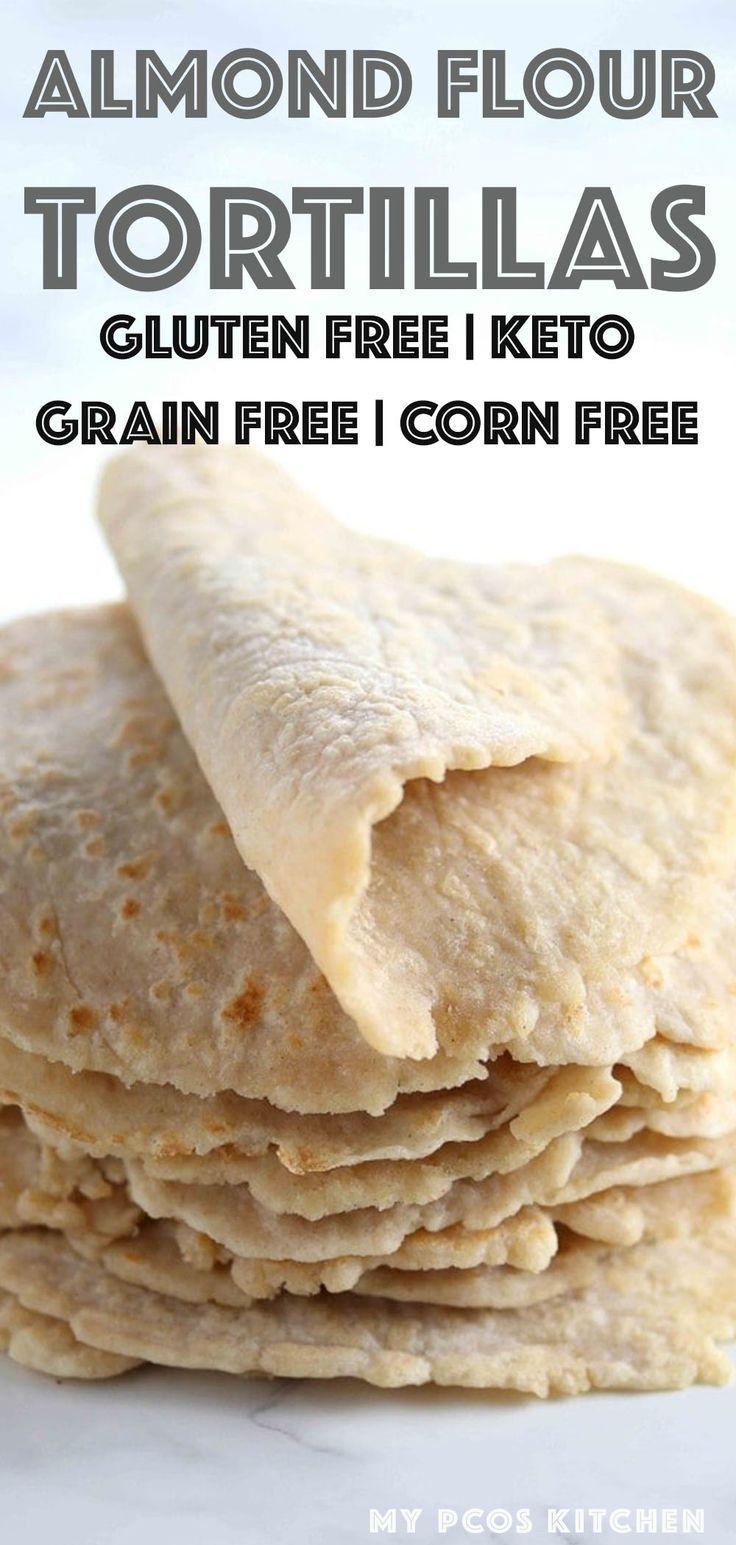 Photo of Low Carb Almond Flour Keto Tortillas Recipe – My PCOS Kitchen