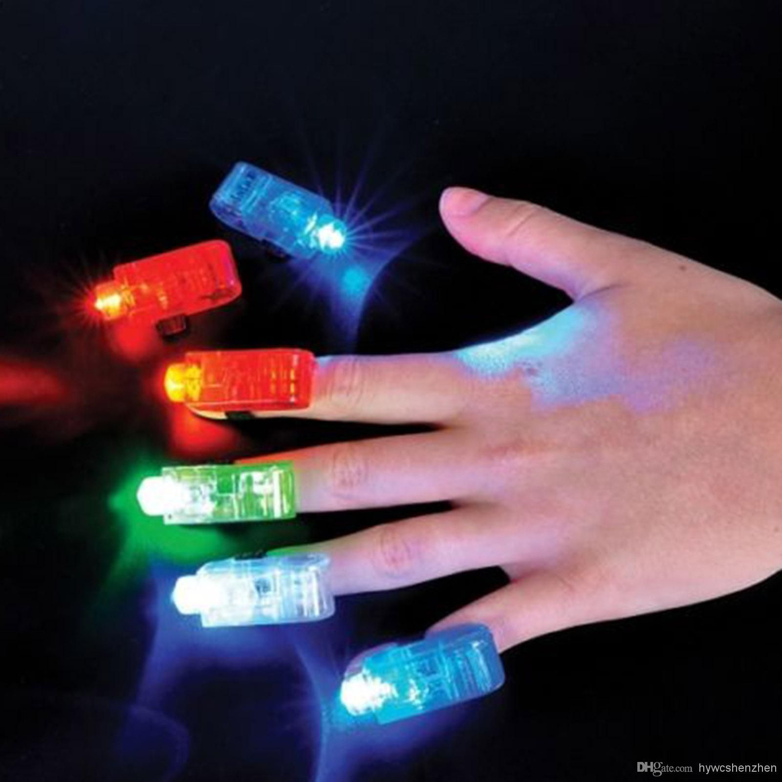 Wholesale LED Light - Buy 10 X LED Finger Fun Gadget Finger Beams LED Light Stocking Filler Party Gift, $5.99 | DHgate