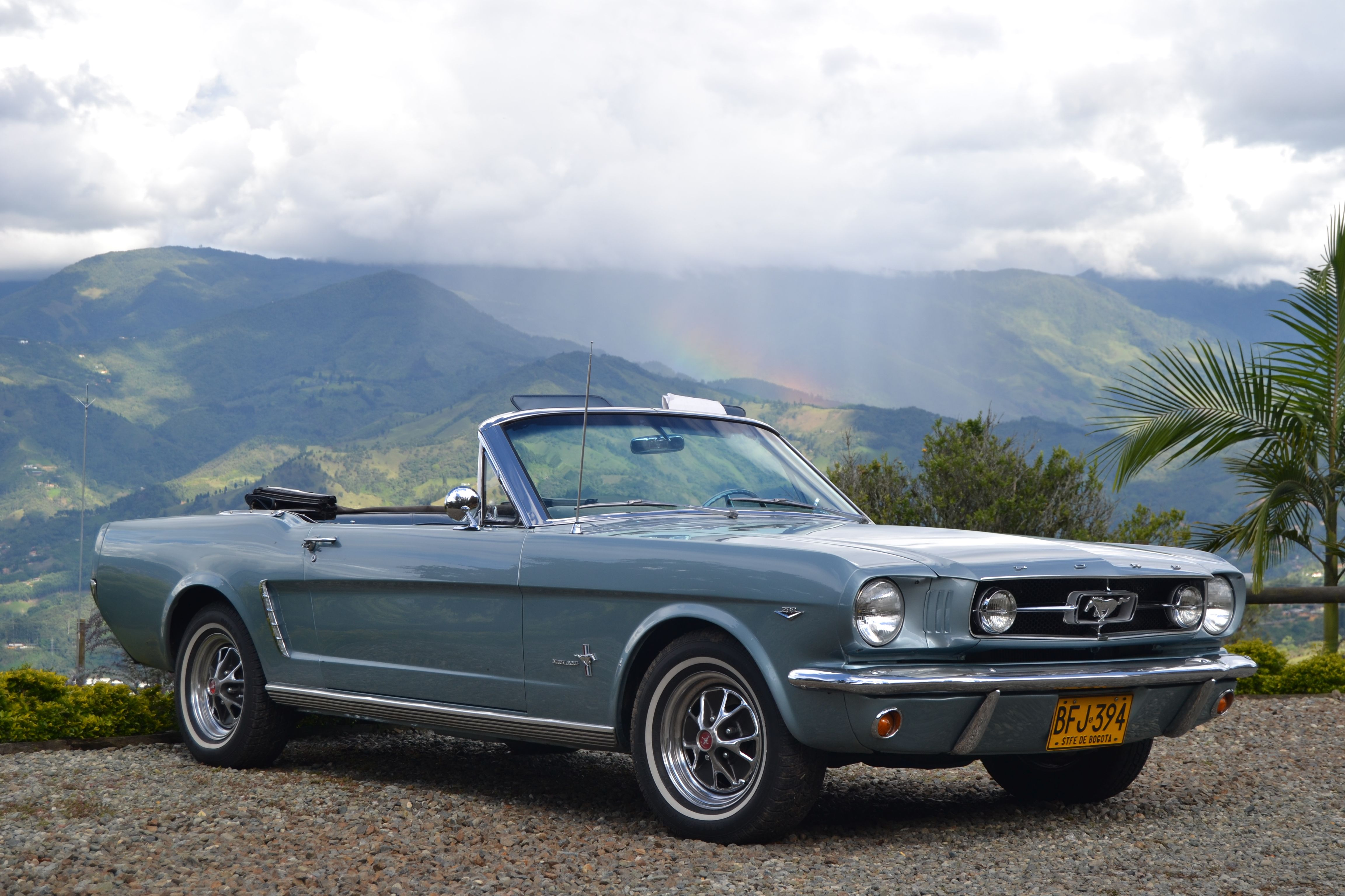 65 Mustang Parts >> Francsico V S Turquoise 65 Mustang Lives In Colombia All The Way