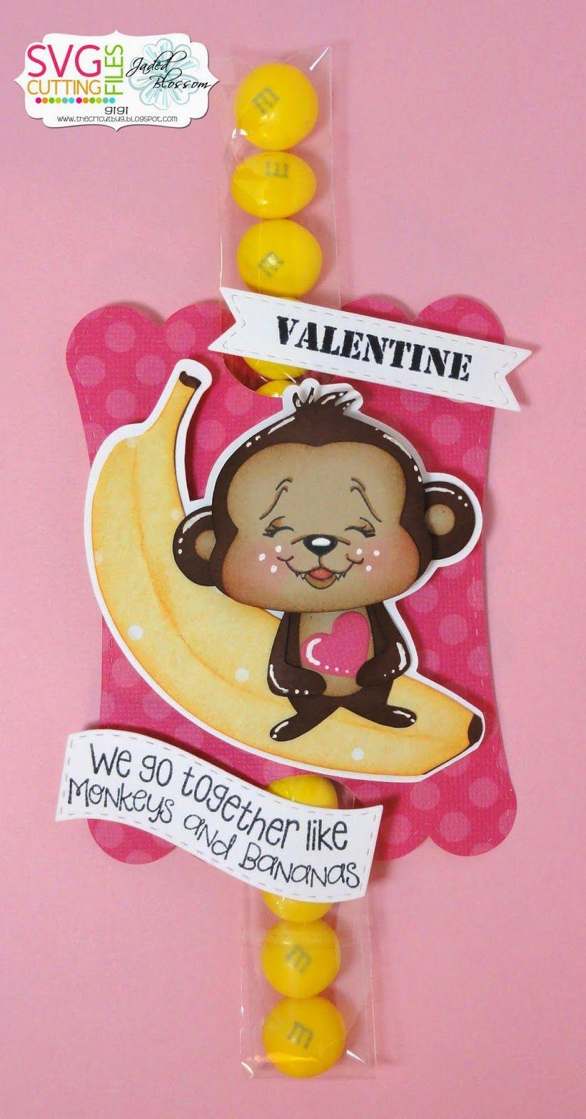 Monkeys and Banana's Valentine- Using Kawaii Banana and MP3 Monkey