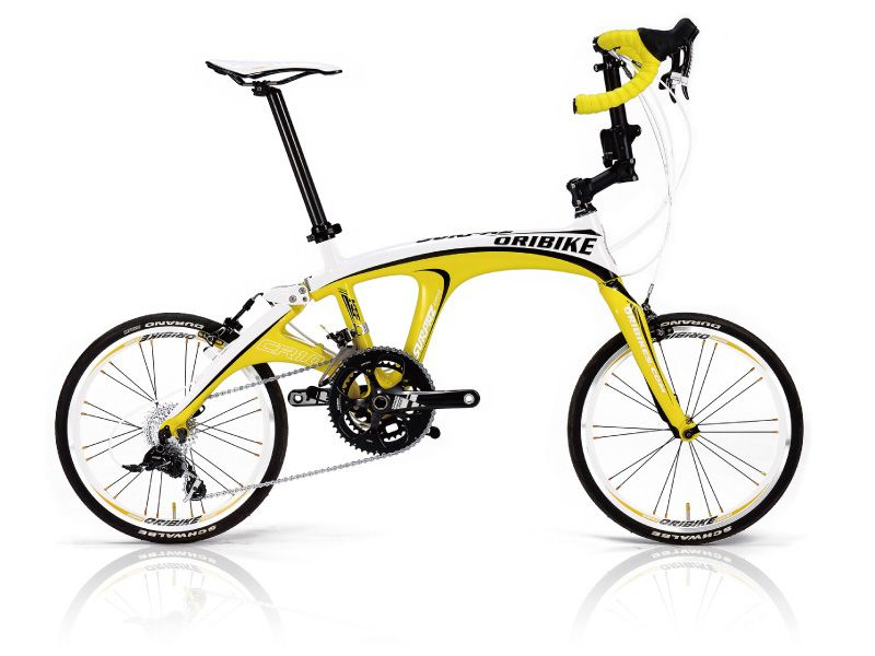 Carbon Frame Folding Bike With Drop Bars 8 7kg Bicycle