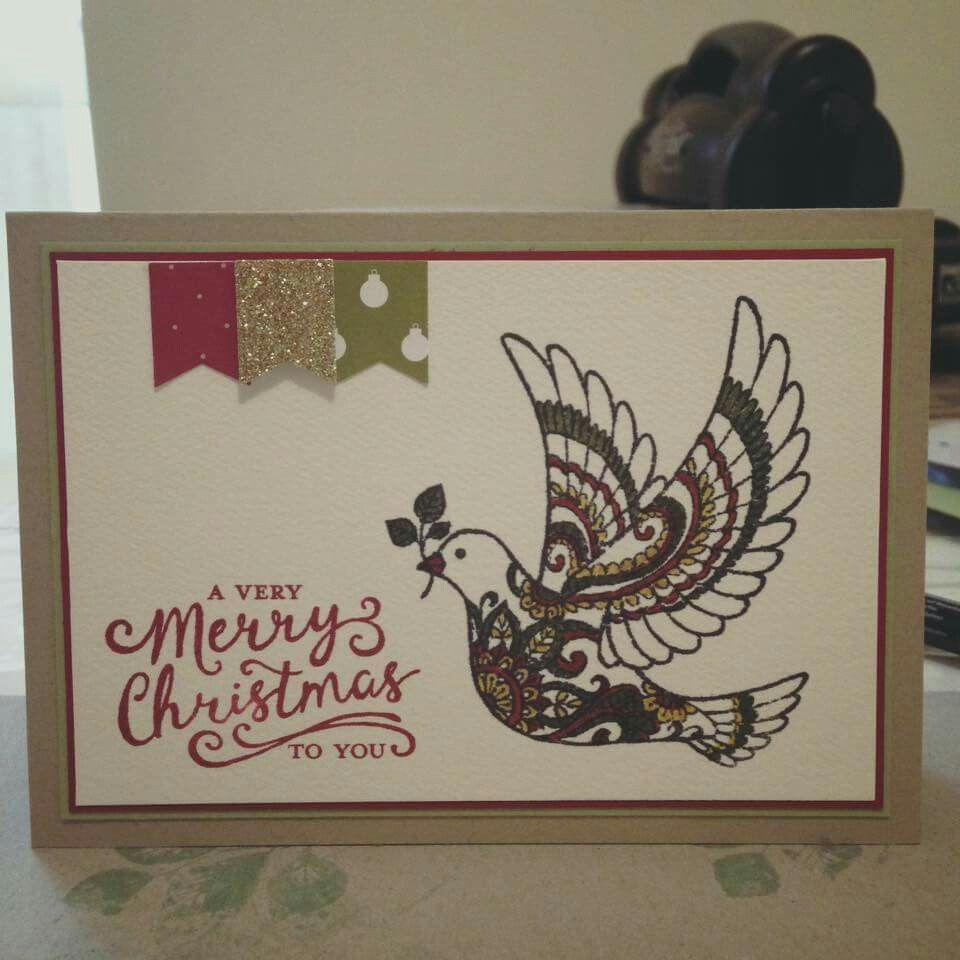 Pin By Champagne Jane On Stampin Up Dove Of Peace