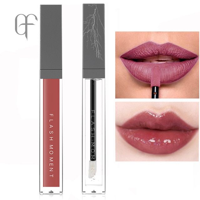 Flashmoment Shimmer Transparent Clear Lip Gloss Moisturizer Makeup