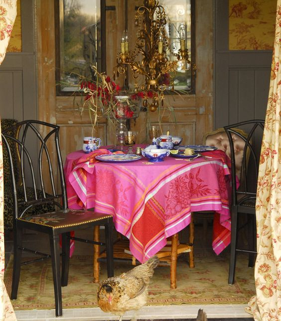 Image Result For Bohemian Coastal Tablecloth