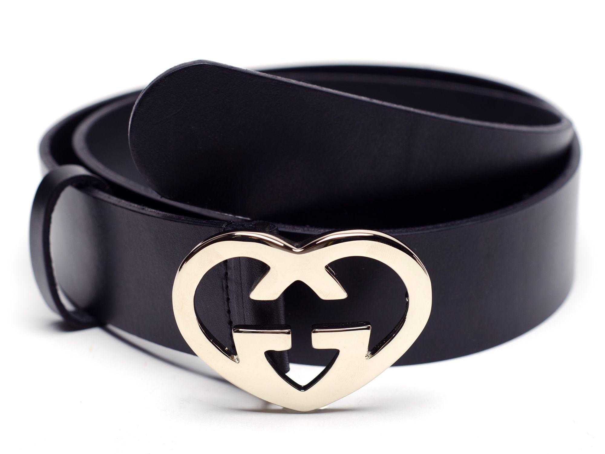 de539543a LivingSocial Shop: Gucci Belt with Heart Buckle | amazing | Belt ...