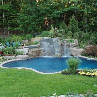 Stunning Back yard Swimming Pool | Piscinas...Naturales, increíbles ...