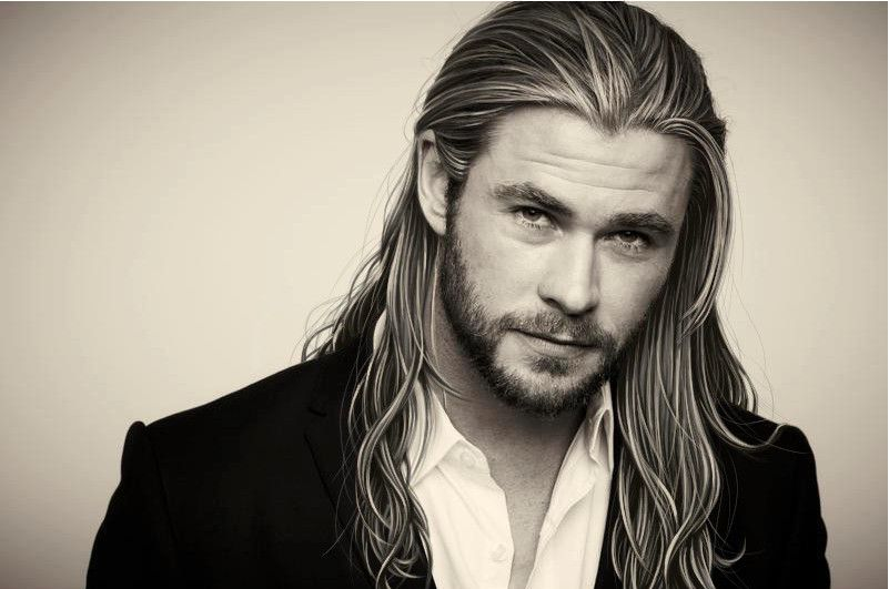Hot Guys in Sweaters: Chris Hemsworth | Sexy, Long haircuts and ...