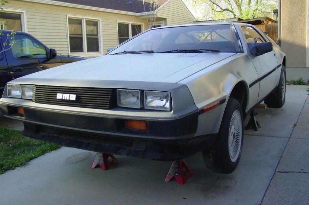1981 DeLorean DMC-12: Outta Time - http://barnfinds.com/1981-delorean-dmc-12-outta-time/