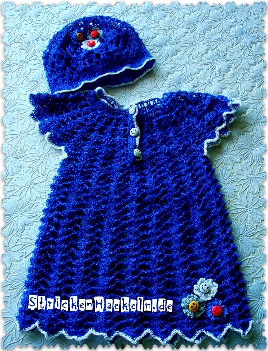 Babykleid Häkeln Häkeln Pinterest Häkeln Häkeln Baby Und Baby