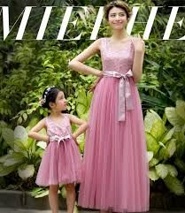 Vestidos madre e hija para fiesta