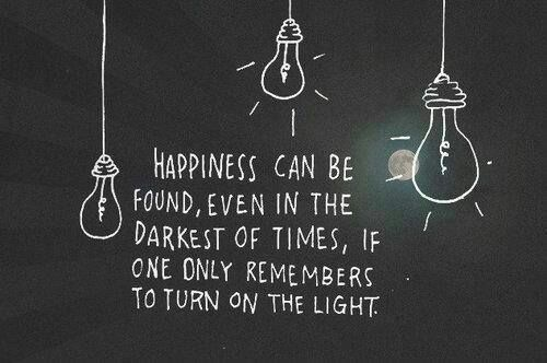 Imagen de quote, light, and happiness