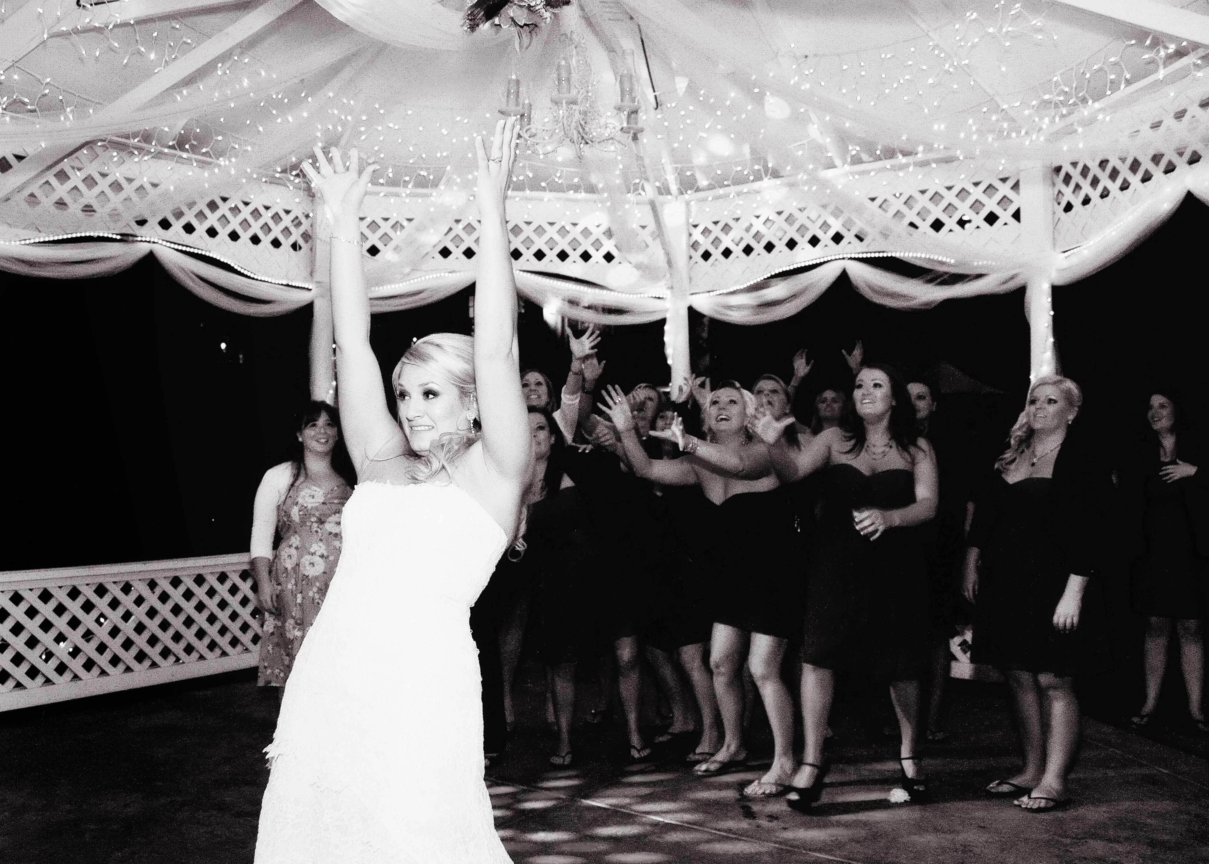 Bouquet Toss! | Our Wedding: Rustic Elegance | Bouquet ...