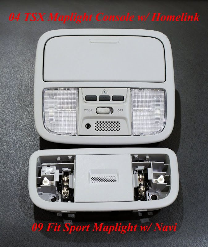 DIY-Complete TSX Homelink Install On A GE8 Sport W/ Nav