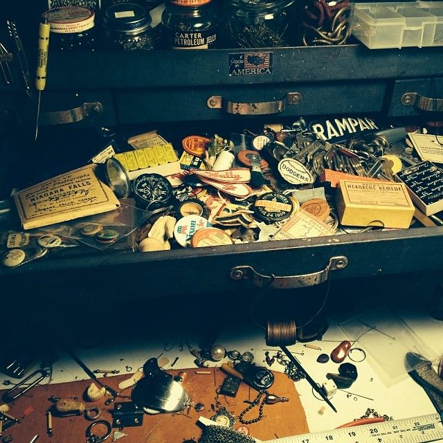 """My """"not for jewelry"""" drawer is starting to overflow."""