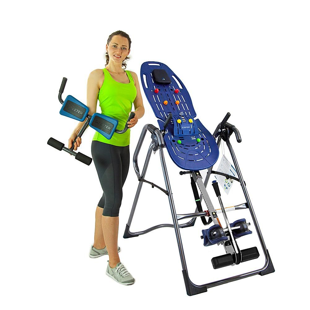 Teeter Ep 970 Ltd Inversion Table With Ez Reach Ankle System And