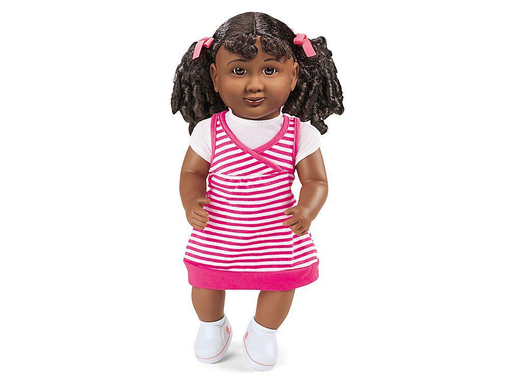 Lakeshore African American Girl Doll #africanamericanhair