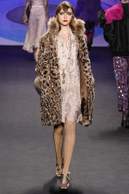 Anna Sui, Fall 2014 ready-to-wear