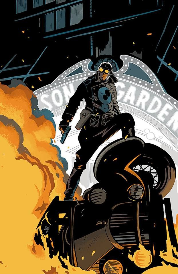 Lobster Johnson by Tonci Zonjic * | Lobster Johnson in 2019