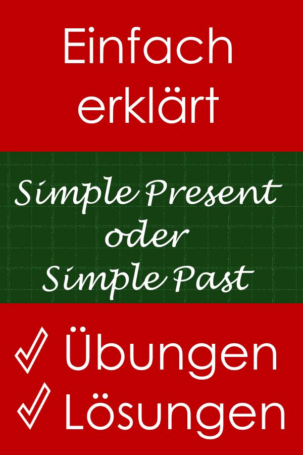 simple present oder simple past bungen zum ausdrucken online englisch english grammar. Black Bedroom Furniture Sets. Home Design Ideas